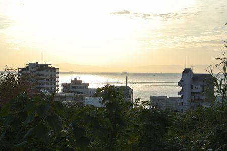 ひだまり 朝ウォーキング 海.jpg